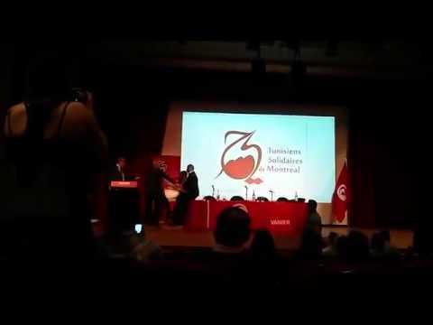 بالفيديو: عارية في كندا تهجم على رئيس الحكومة التونسي السابق