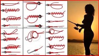 Узлы для рыболовных крючков