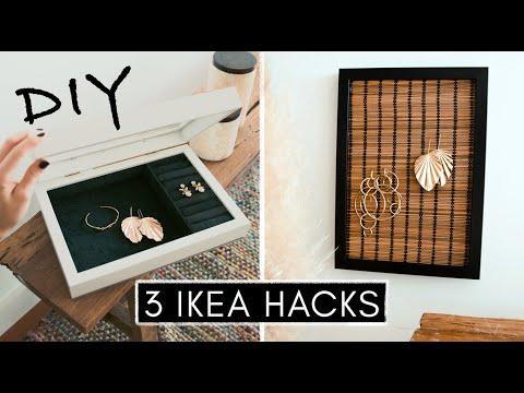 3 etwas andere IKEA Hacks - RIBBA Special zur DIY Schmuckaufbewahrung