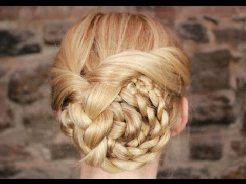 Easy Braided Updo Tutorial: Summer Wedding Style