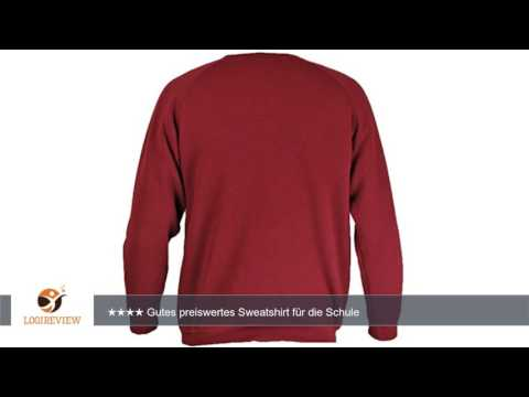 Jungen Mädchen Sweatshirt FRUIT OF THE LOOM Schul Uniform Langarm Baumwolle Pullover ITL |