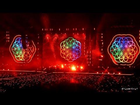 Coldplay - A Head Full Of Dreams @ 2017 Live In Seoul, Korea