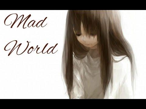 【Nightcore】 - Mad World Female Cover w/lyrics