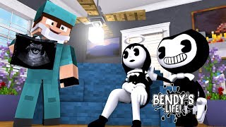 Minecraft BENDY'S LIFE (EP.7) - ALICE ANGEL IS PREGNANT WITH BENDY'S BABY - IS IT A BOY OR A GIRL??