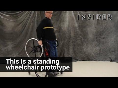 This wheelchair lets paraplegics stand