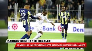 Kadıköy'deki hakem rezaleti