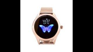 KW10 женские смарт часы от KingWear