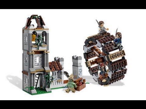 Vidéo LEGO Pirates des Caraïbes 4183 : Duel sur la roue