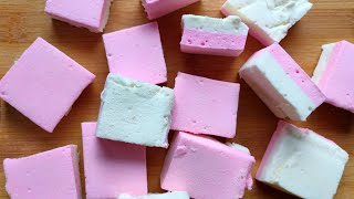HOMEMADE MARSHMALLOWS (very Soft & Chewy)