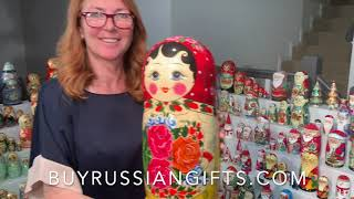 Authentic Russian Nesting Dolls Online Store Buyrussiangifts. Matryoshka Dolls for Kids and Adults.