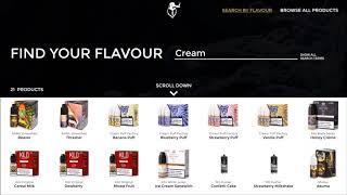 Product Catalogue – P-Vaper