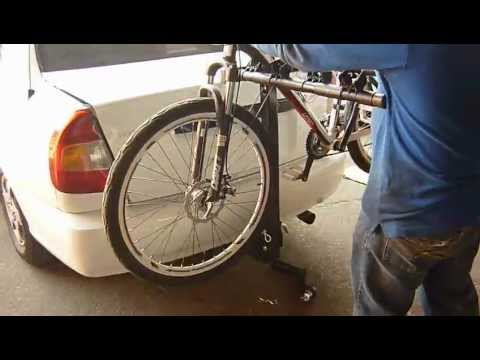 porta bicicletas para vehiculo con enganches americanos
