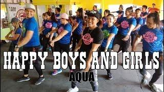 HAPPY BOYS & GIRLS - Aqua | RETROFITNESSPH | Aaron Trangia