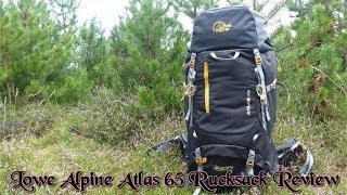 Lowe Alpine Atlas 65 Rucksack Review My New Wild Camping Pack