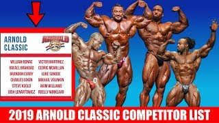 2019 Arnold Classic Lineup Released! | Kholo.pk