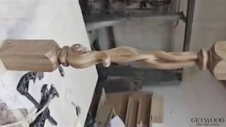 Видео - Резное навершие на столб nav-R