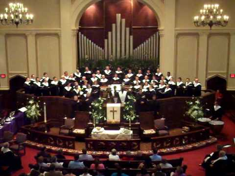 Easter 2009, Hallelujah Chorus, St. Mark United Methodist Church, Atlanta, Georgia