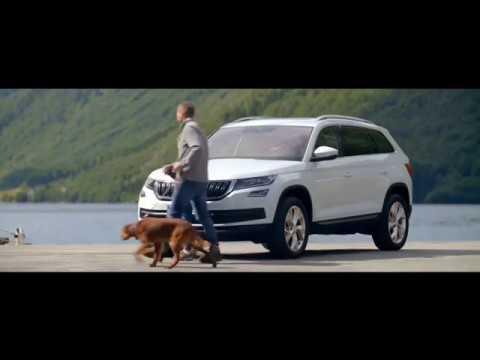 Skoda  Kodiaq Паркетник класса J - рекламное видео 2