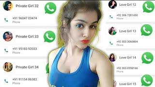 Real India Girls WhatsApp Number / लड़की का व्हाट्सअप नंबर चाहिए