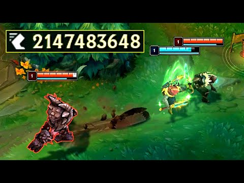 Over 2 BILLION MOVEMENT SPEED! (League of Legends Record)
