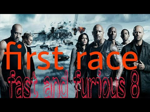 Fast and furious 8 first race part 1 hindi
