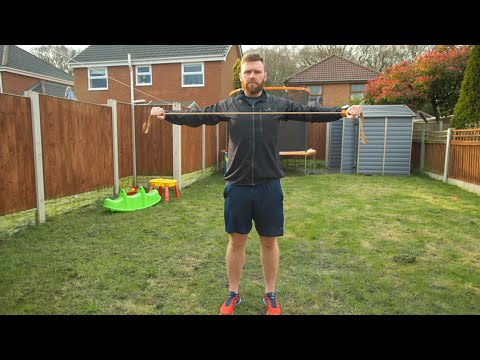 Band Pull Apart - Home Workout Series
