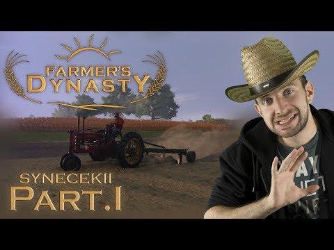 KONEČNĚ ORIGINÁLNÍ FARMÁŘSKÁ HRA! | Farmer's Dynasty #01