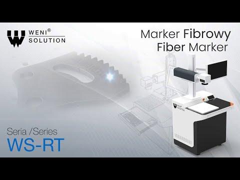 Marker fibrowy ze stacją roboczą | Fiber marker with workstation WS-RT Weni Solution - zdjęcie