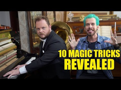 10 Magic Tricks Revealed!