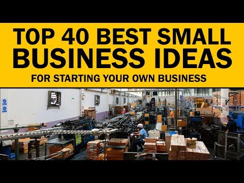, title : '40 Best Small Business Ideas for Your Startup in 2020