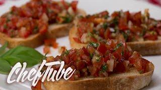 How to Make Italian Bruschetta - Recipe in description
