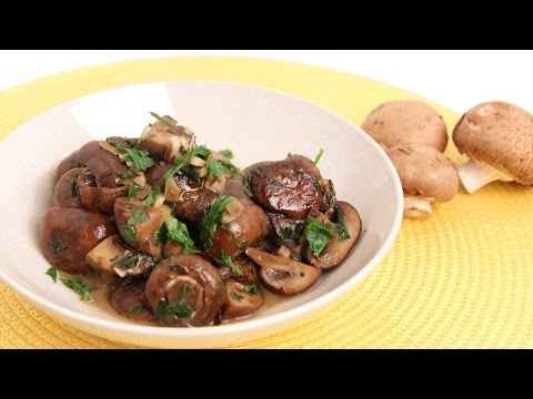Parmesan Sauteed Mushroom Recipe – Laura Vitale – Laura in the Kitchen Episode 842
