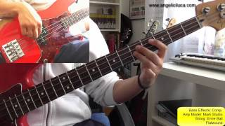 Man in a Suitcase - The Police - Bass Cover