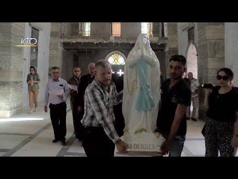 Les Vierges de Lourdes réinstallées dans la plaine de Ninive