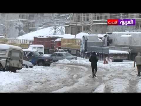 أقوى موجة باردة منذ 20 عاماً في بلاد الشام