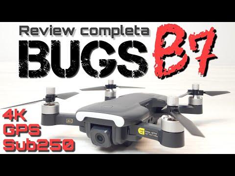 BUGS B7: UN PEQUEÑO DRONE FÁCIL DE VOLAR Y LIBRE DE REGISTRO (SUB250GR)