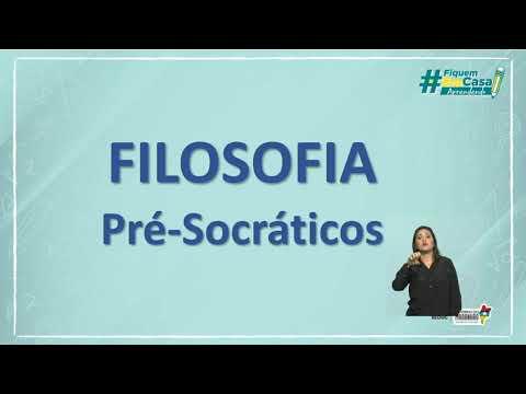 A FILOSOFIA PRÉ-SOCRÁTICA