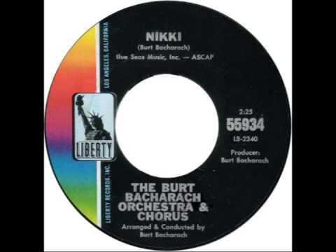 "Burt Bacharach -- ""Nikki"" (Liberty) 1966"