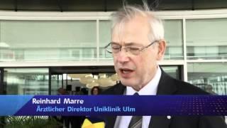 preview picture of video 'Einweihung der neuen Chirurgie des Universitätklinikums Ulm (Regio TV Schwaben)'