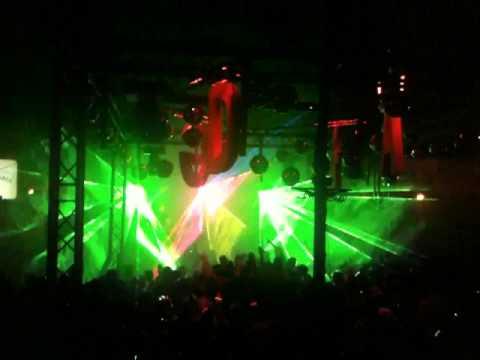 Feestje aan de Gracht 2010 - Lasershow tijdens Alex Under - deel 1