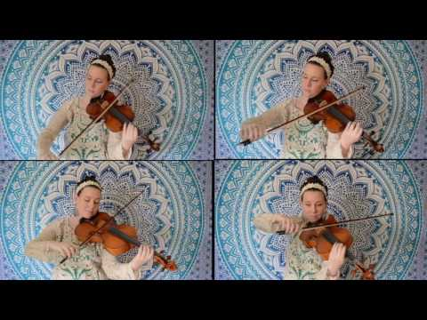 Clair de Lune arranged by me for 2 violins and 2 violas