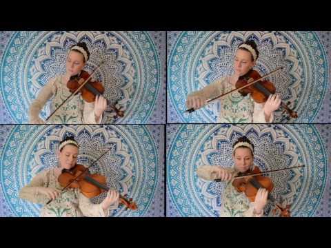 Clair de Lune arranged by me for 2 violins and 2 violas