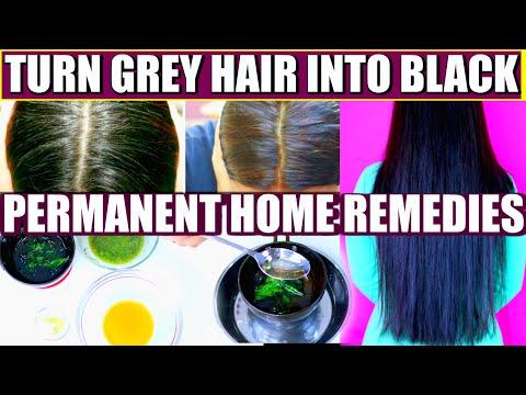 Video How To Turn Grey Hair Into Black Permanently | SuperPrincessjo