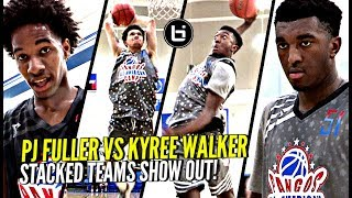 Kyree Walker & Logan Johnson vs PJ Fuller WAS TOO LIT!!! Stacked Teams DUNKING ON Each Other!!