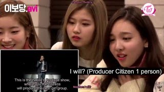 [ENG SUB] 160215 TWICE Reaction To Somi