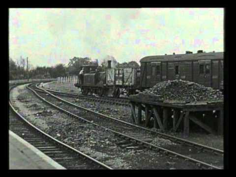 The Hayling Island branch - Railway Roundabout 1958