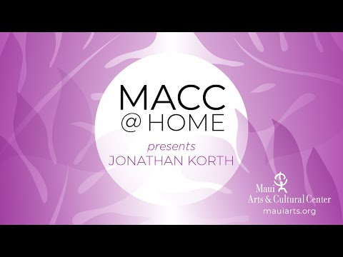 "MACC@Home - with pianist Jonathan Korth playing George Gershwin's ""The Man I Love"""