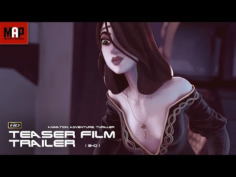 "CGI 3D Animated Trailer ""YS""- Sexy Fantasy Film Teaser by Supinfocom Rubika"