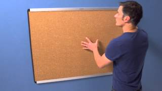 How to Install Prestige 2 Magnetic Bulletin Board