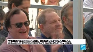 Weinstein scandal: new rape claim against mogul, Tarantino says he knew of misconduct